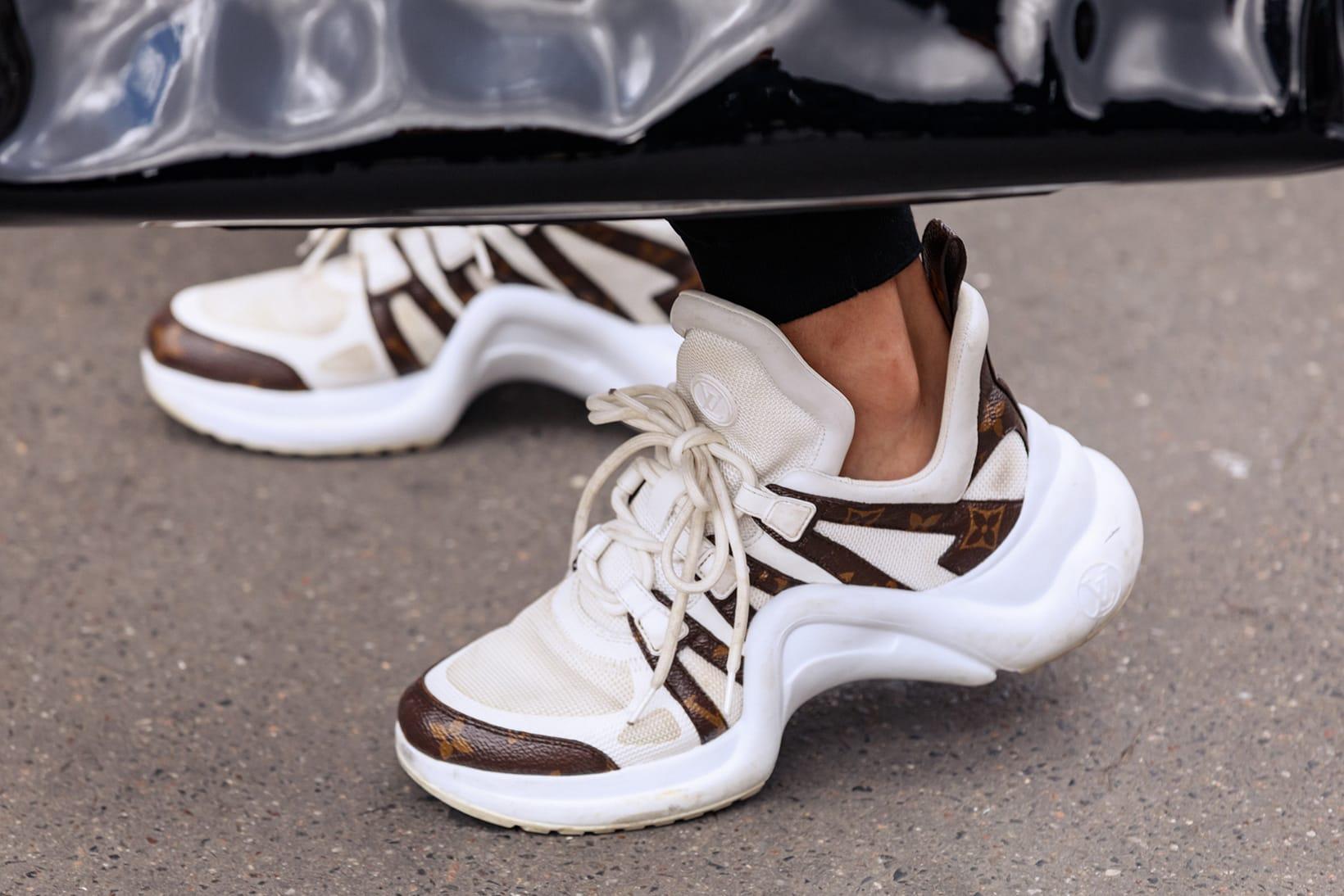 Sneakers at Paris Fashion Week