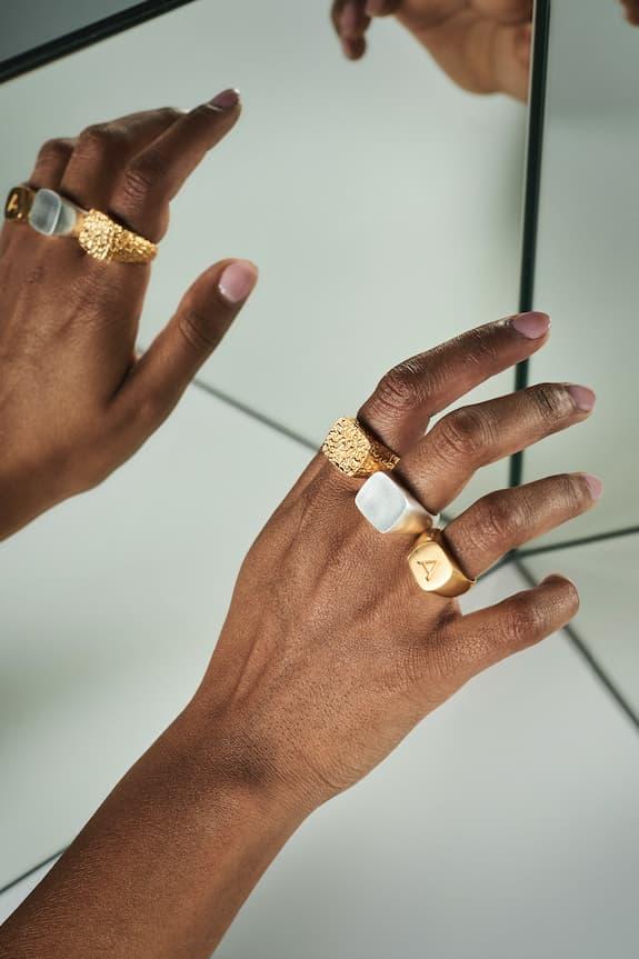 Blue Billie Swedish Jewelry Brand Accessories Earrings Necklaces Chain Gold Silver Alphabet Letter Pendants Scandinavian Label