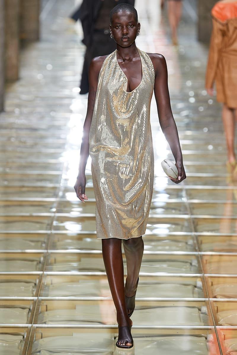 adut akech bottega veneta daniel lee spring summer 2020 milan fashion week runway show