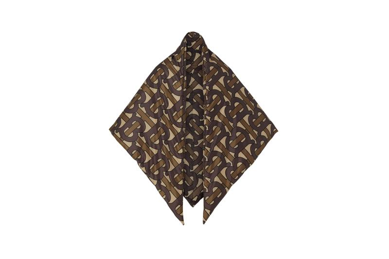 Burberry Monogram Scarf Bridle Brown