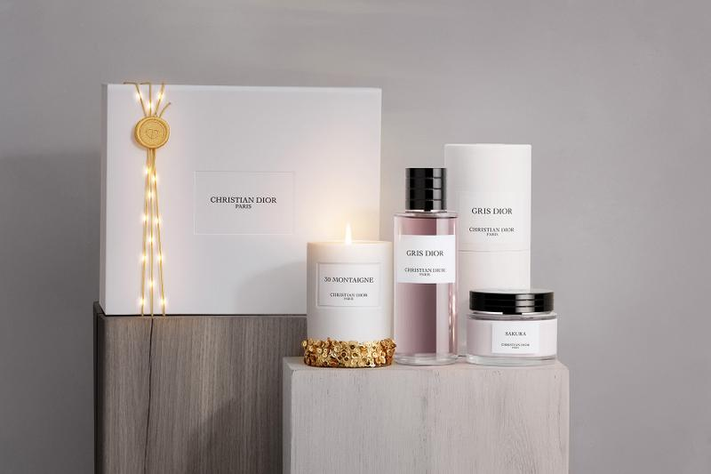 christian dior christmas scented candles homeware