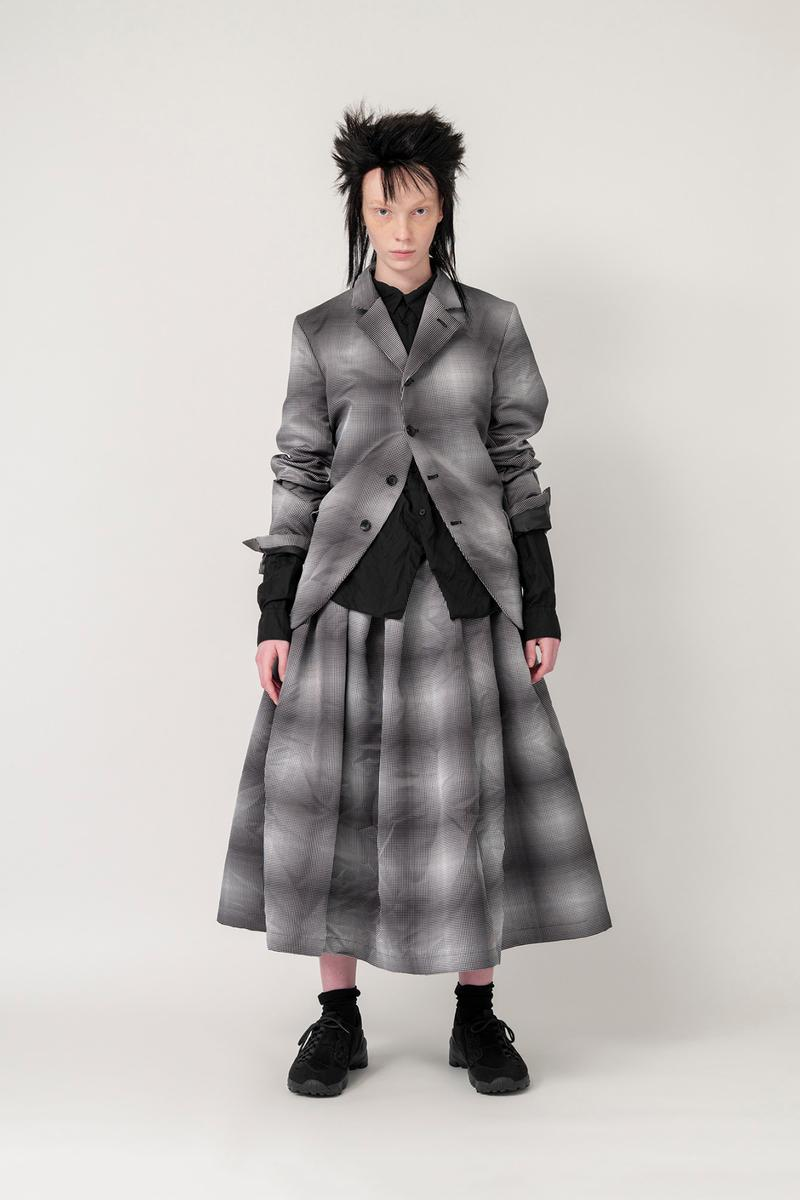 Nike x BLACK COMME des GARCONS Fall/Winter 2019 Collection Jacket Skirt Plaid Womens