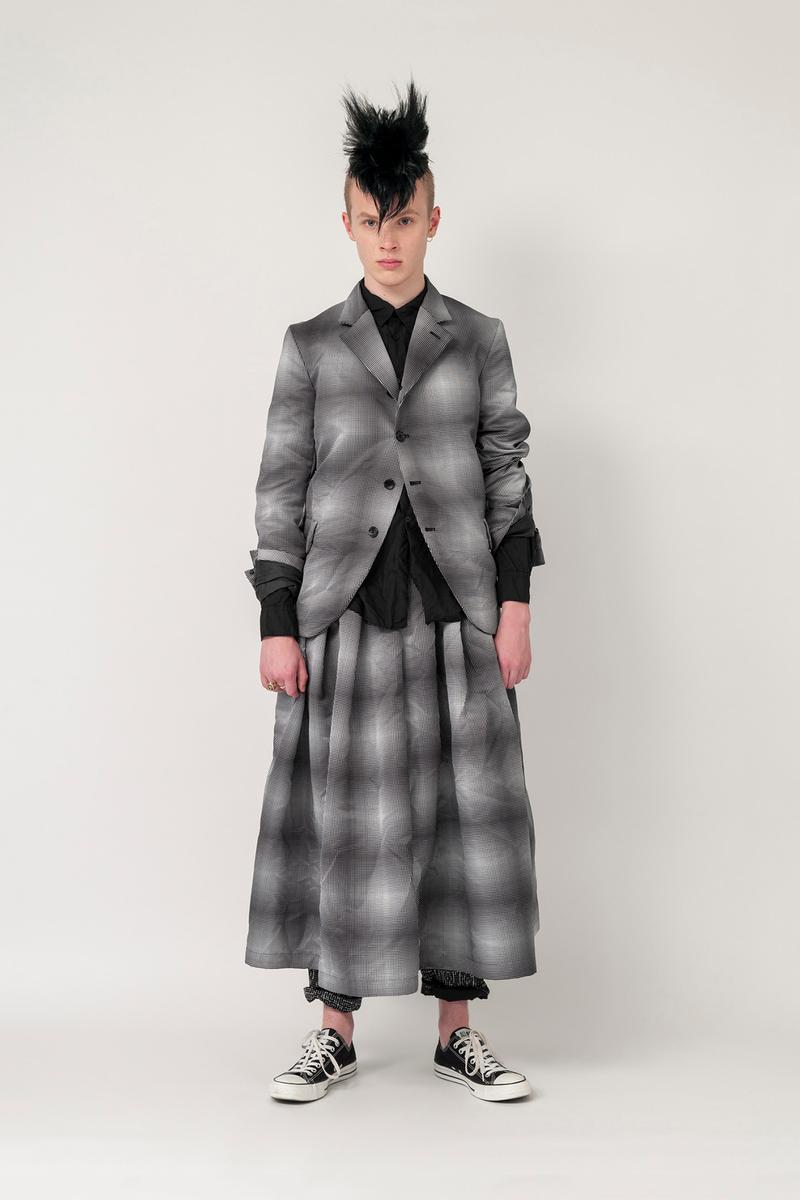 Nike x BLACK COMME des GARCONS Fall/Winter 2019 Collection Jacket Skirt Plaid Mens