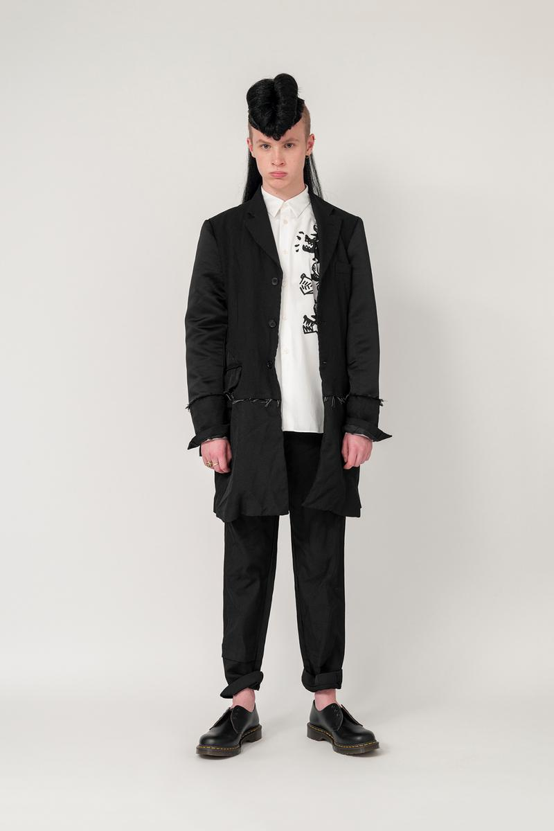 Nike x BLACK COMME des GARCONS Fall/Winter 2019 Collection Button Down White Blazer Trousers Black Mens
