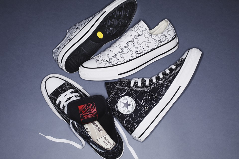 Converse's Chuck Taylors Get an UNDERCOVER Graphic Makeover