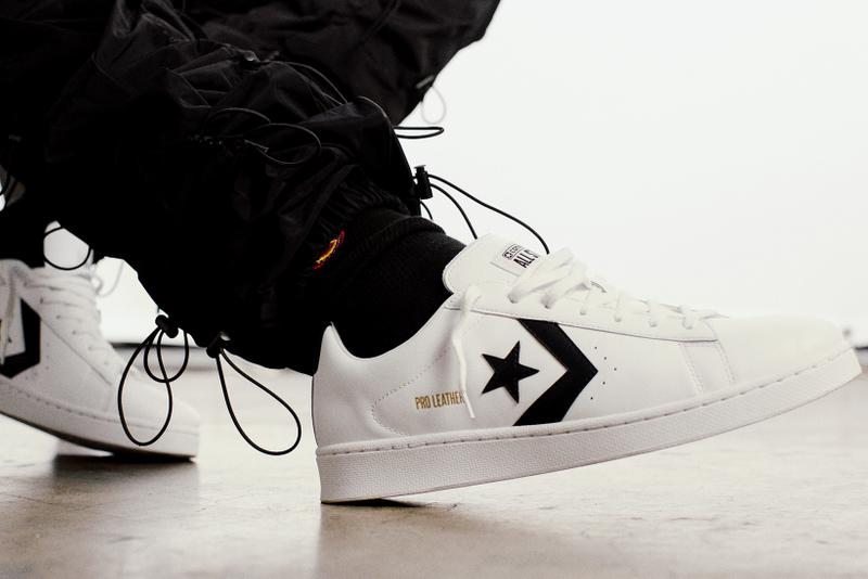 converse pro leather all star sneakers white red shoes footwear sneakerhead
