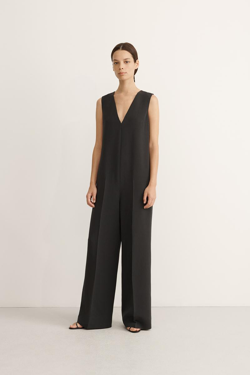 COS Spring Summer 2020 Collection Lookbook Wool Jumpsuit Charcoal