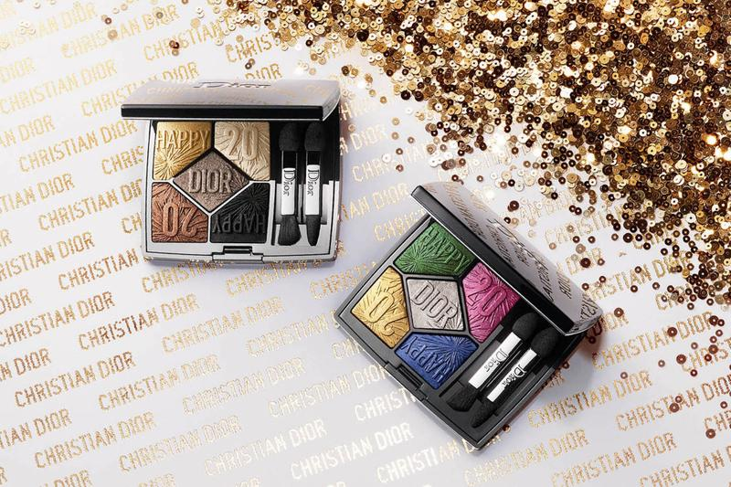 Dior Makeup Holiday Beauty Collection Release Lipstick Eyeshadow Nail Polish Glitter Shimmer Highlight