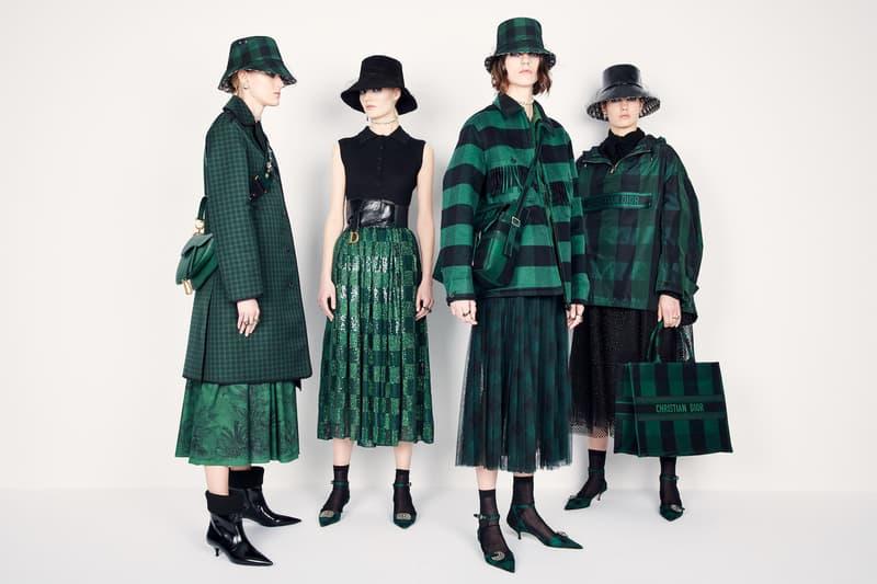 Dior Monogram Bucket Hats Fall/Winter 2019 Drop Maria Grazia Chiuri Accessories Hat Stephen Jones FW 19 Collection