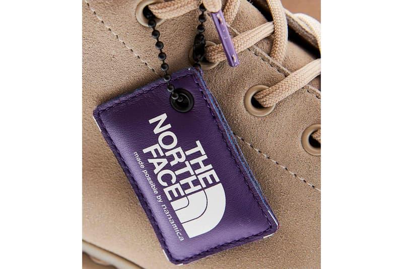dr martens nanamica the north face 9 tie boot black beige purple shoes footwear