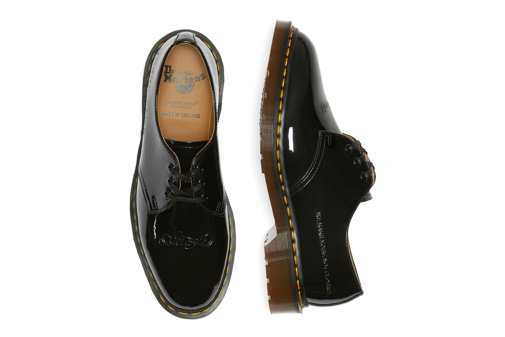 UNDERCOVER x Dr. Martens Patent Leather