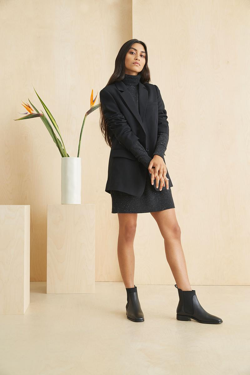 everlane pop in at nordstrom sustainability silk cashmere sweaters denim jackets shirts coats outerwear shoes