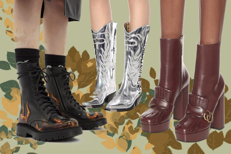 Best Fall Boots from Gucci, Jacquemus, Off-White Winter Designer Statement Shoes Logo 1017 ALYX 9SM Vetements Jil Sander Stella McCartney