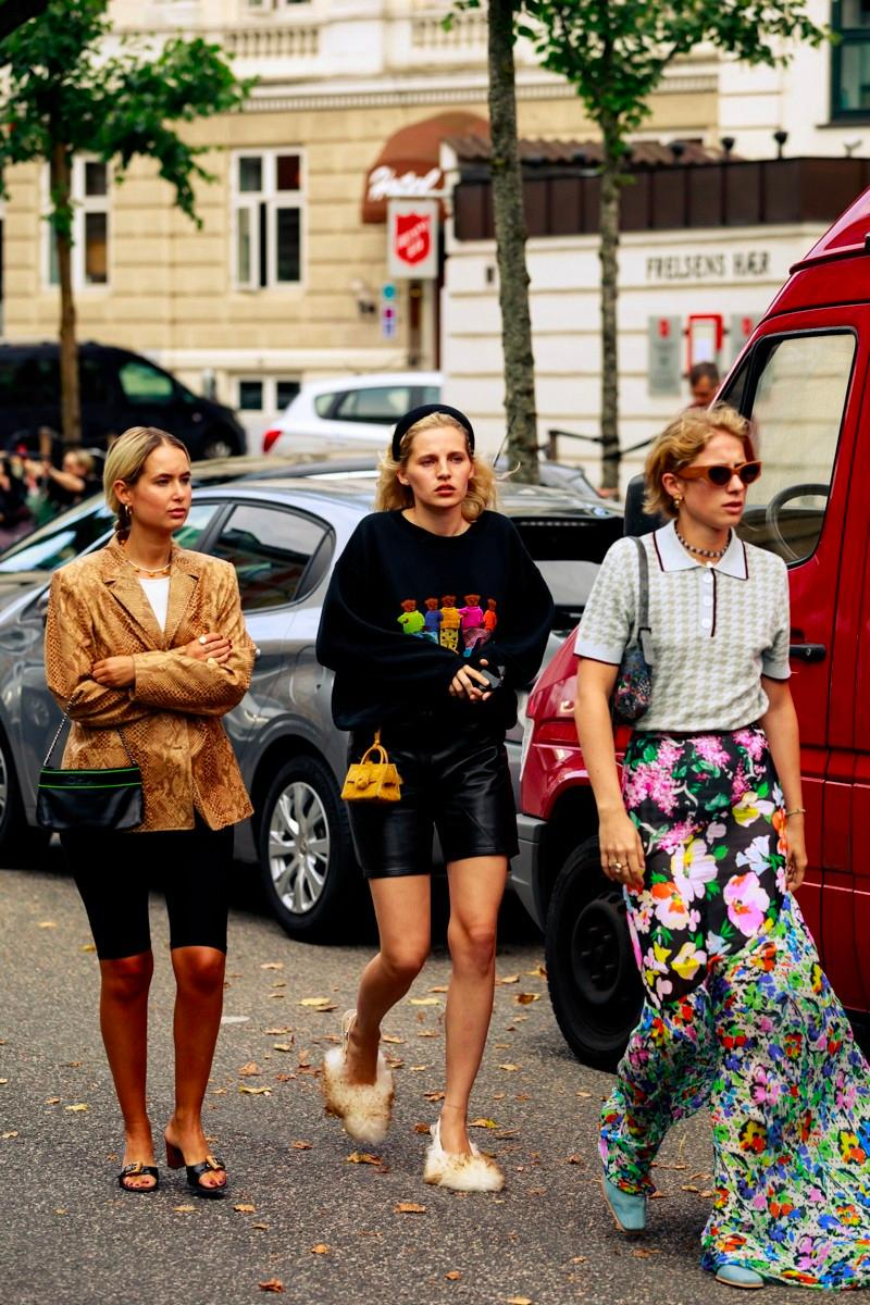 Fashion week fall winter 2019 street style trends copenhagen influencers
