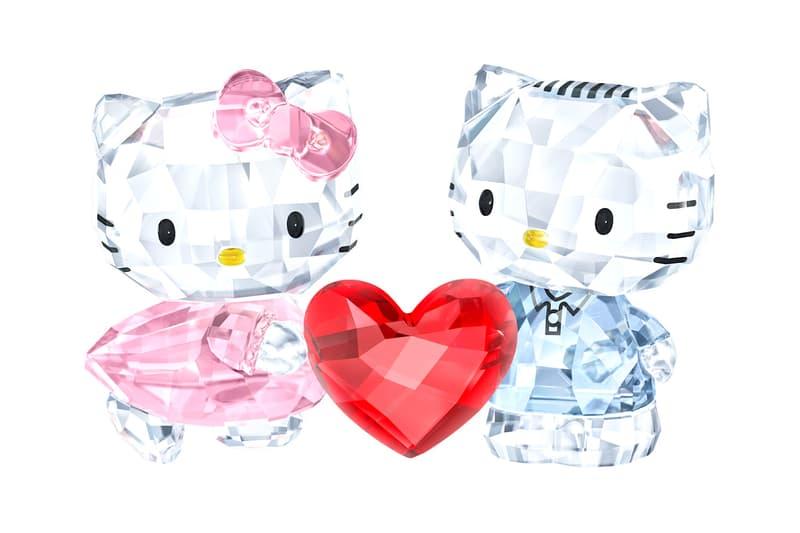 Hello Kitty Swarovski Crystal Dear Daniel Heart