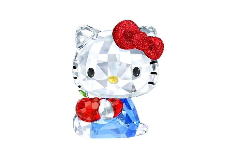Hello Kitty Swarovski Crystal Kitty Red Apple