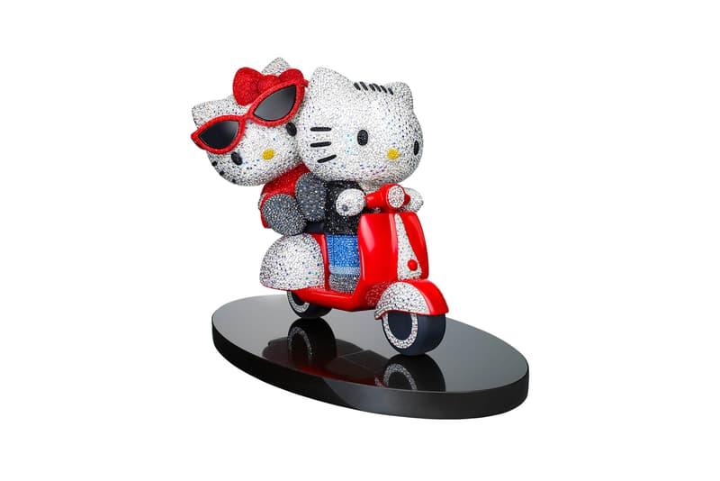 Hello Kitty Swarovski Crystal Dear Daniel Limited Edition