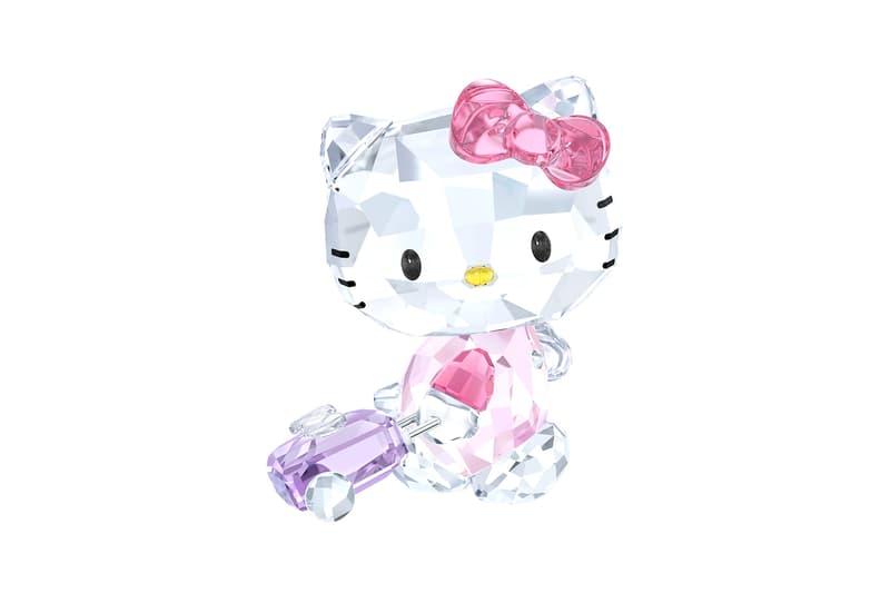 Hello Kitty Swarovski Crystal Traveler