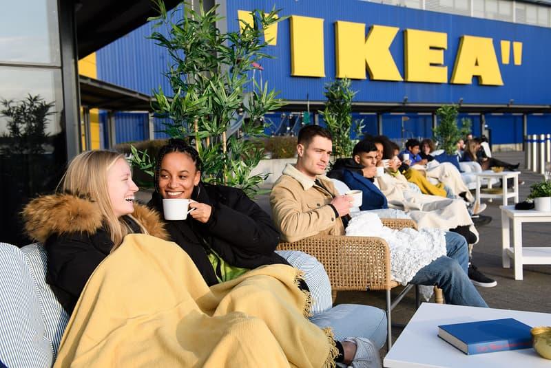 "IKEA ""IKEA"" Logo Virgil Abloh MARKERAD Collection Collaboration"