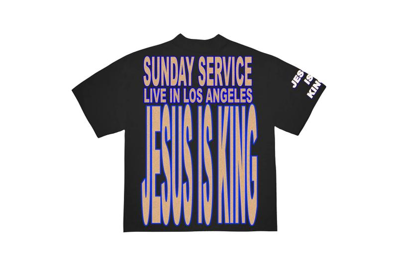 Kanye West Jesus Is King Merch AWGE T-Shirt Black