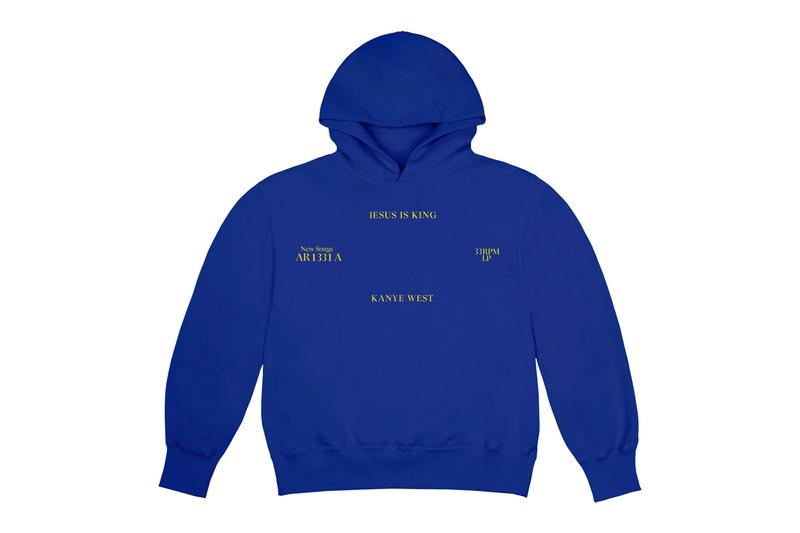 Kanye West 'Jesus Is King' Merchandise Release Album Merch