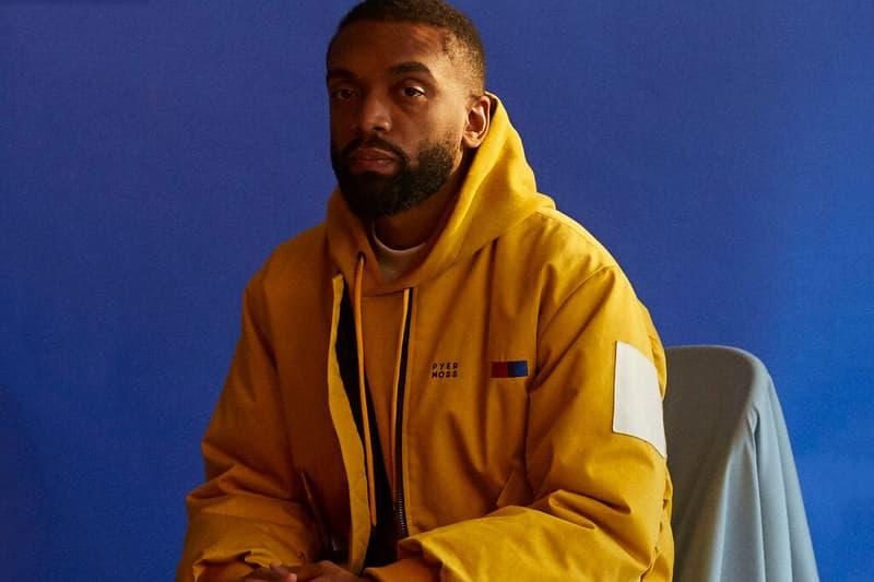 Kerby Jean-Raymond Pyer Moss Designer Yellow Jacket