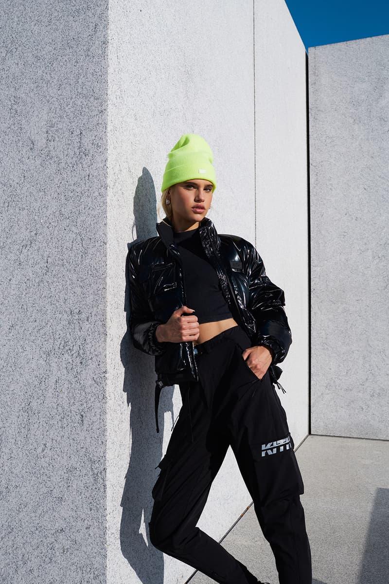kith women fall winter collection swarovski crystals hoodies bodysuit mesh sports bra clothes fashion