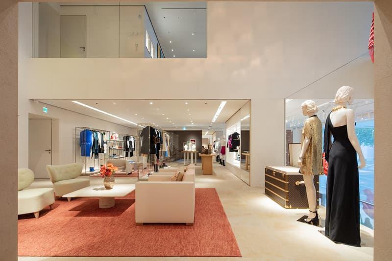 louis vuitton maison seoul korea boutique store opening jessica jung exo sehun chloe grace moretz
