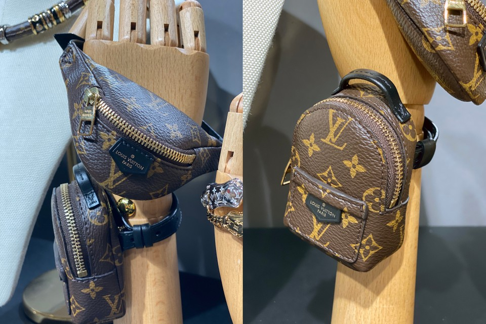 We're Obsessing Over Louis Vuitton's Tiny Monogram Bags