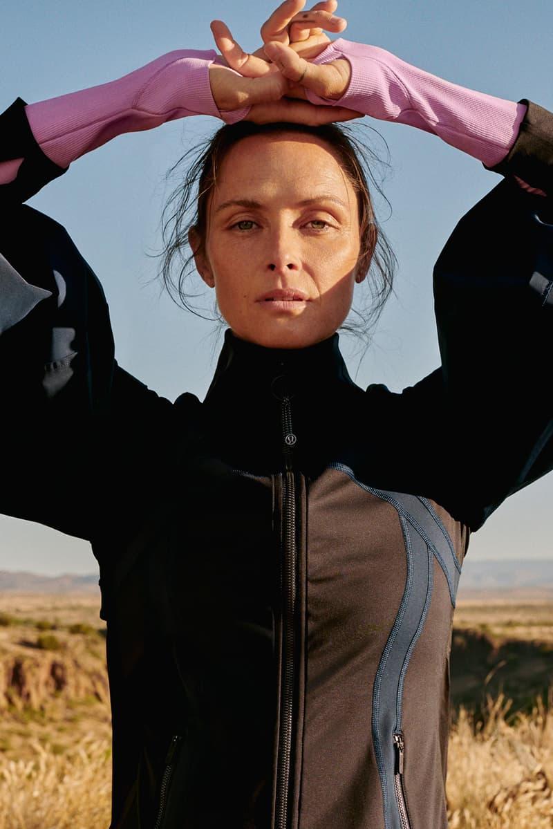 lululemon roksanda collaboration yoga sportswear activewear pants leggings mats gym clothes where to buy