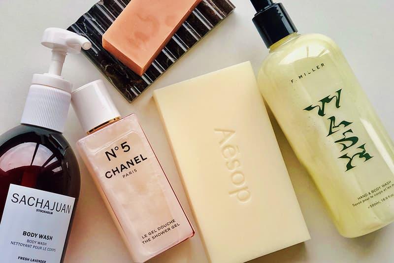 Chanel N 5 Shower Gel Sachajuan Stockholm Fresh Lavender Aesop Bar Soap Binu Binu Dish F Miller Hand Body Wash