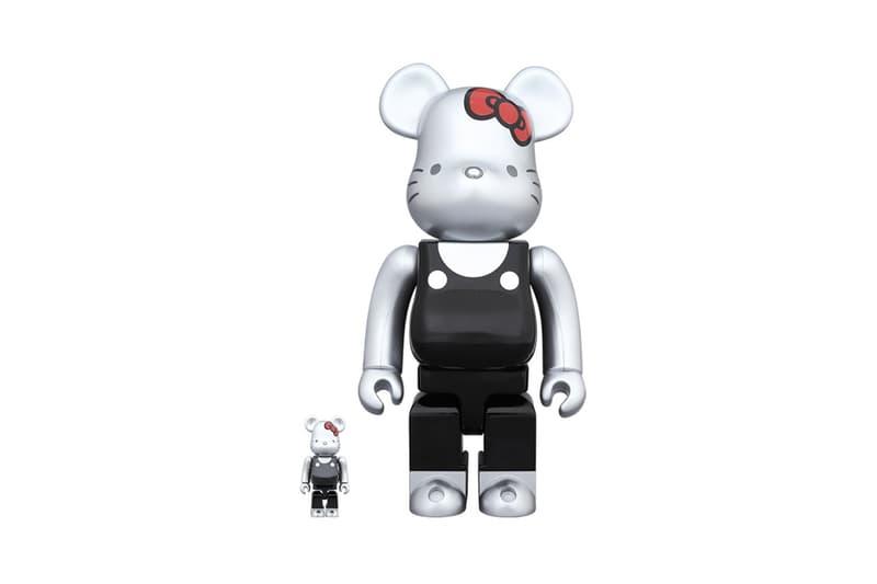 Hello Kitty 45 Year Anniversary BEARBRICK Figures Generations Exclusive Release Design Retro Icon Sanrio