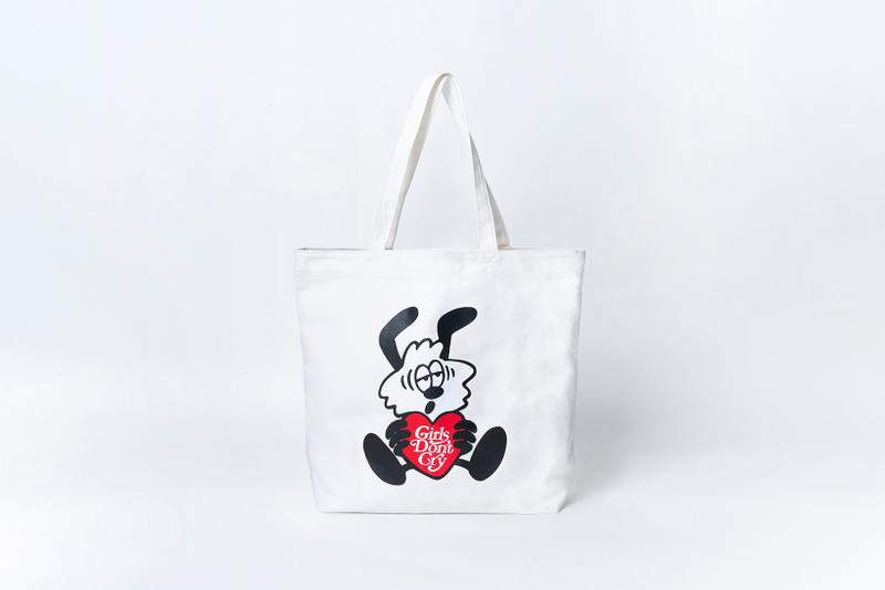 meet verdy gallery limited edition vick character merch lamp girls dont cry tote bag plates mugs stickers key chains bandana