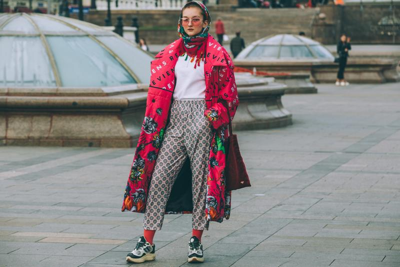 Street Style Mercedes-Benz Fashion Week Moscow Russia SS20