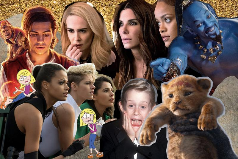Reboot Movies and TV Shows Series Disney Aladdin Lion King Oceans 8 Lizzie McGuire Charlie's Angels Star Wars Business Entertainment