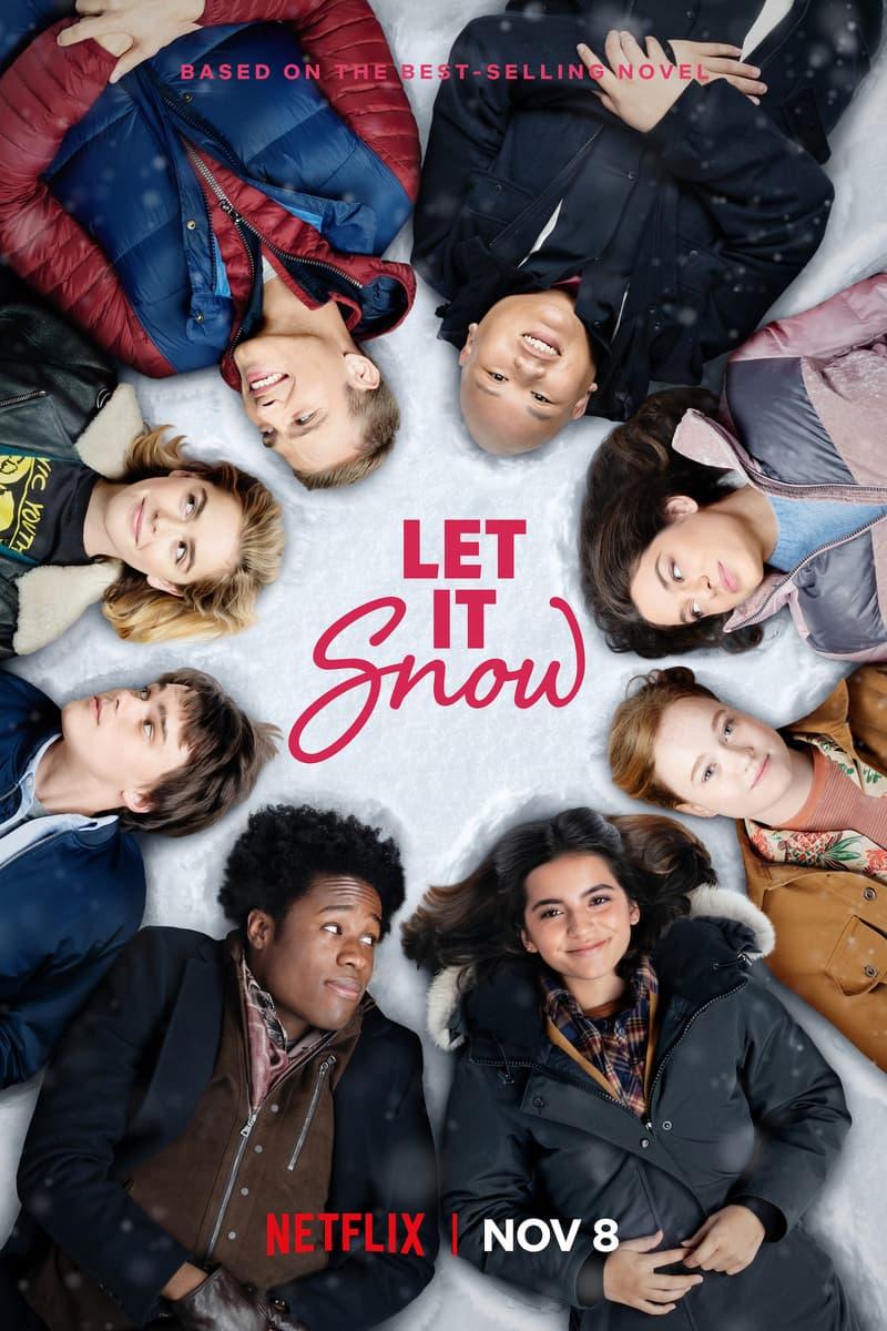 Netflix Holiday Movie Original Releases 2019 Christmas Let it Snow Knight Before Christmas Rush Klaus A Christmas Prince Royal Baby Vanessa Hudgens Kiernan Shipka