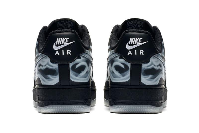 Nike Air Force 1 '07 Skeleton QS Black