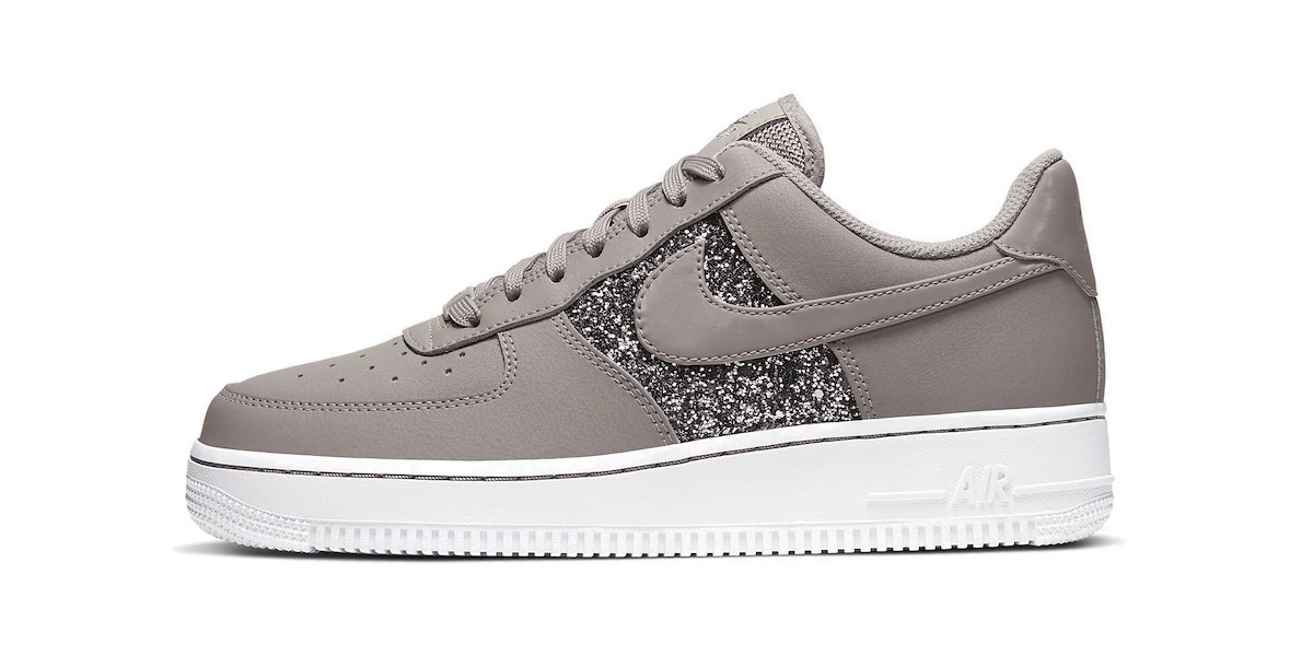 nike air force with glitter