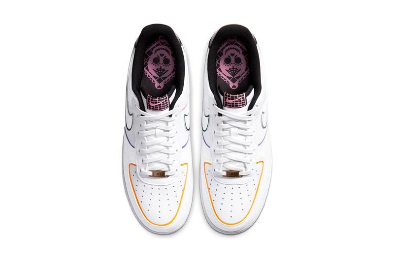 Nike Air Force 1 Day of the Dead Dia De Los Muertos Colorway Release Rainbow Mexico Mexican Holiday Tradition