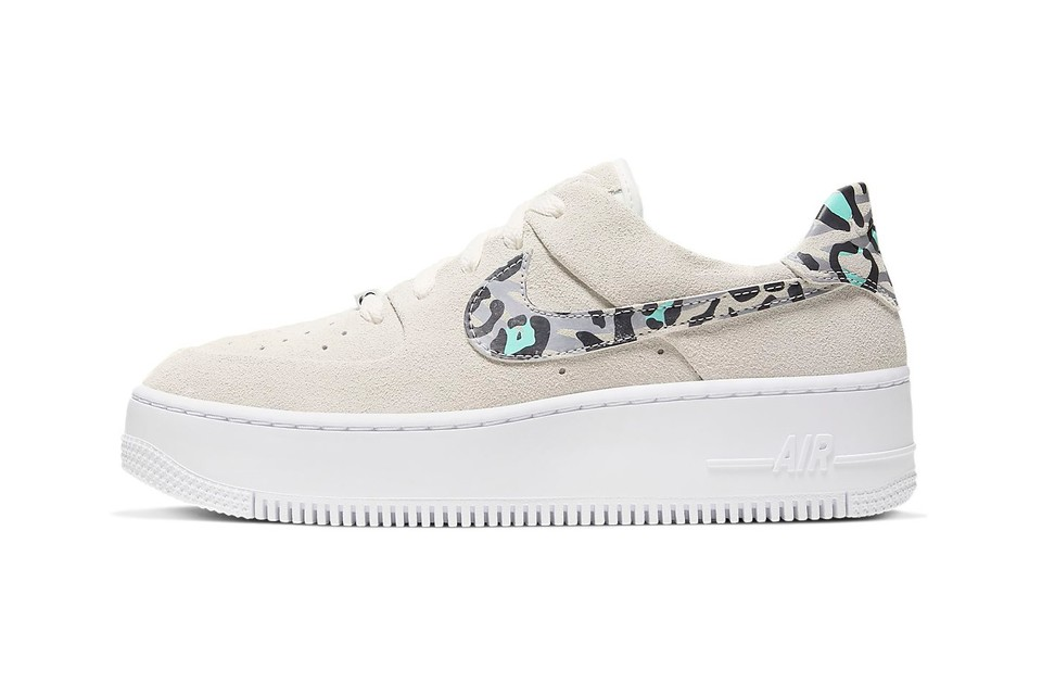 Nike's Latest Air Force 1 Sage Low Has a Wild Side