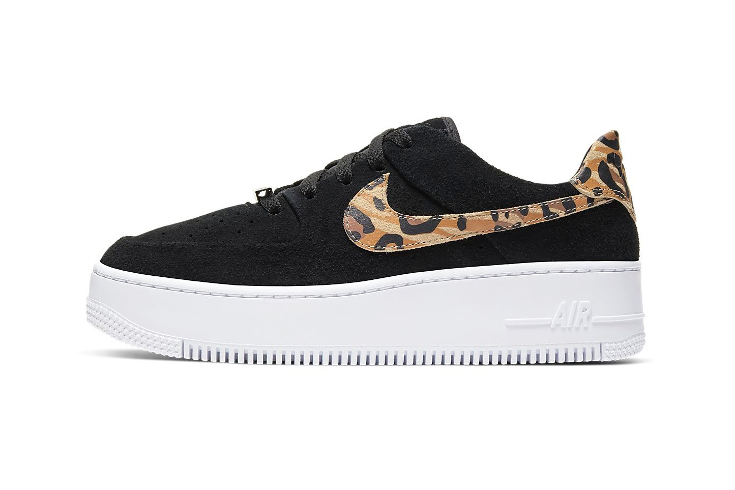 Nike Air Force 1 Sage Leopard Print