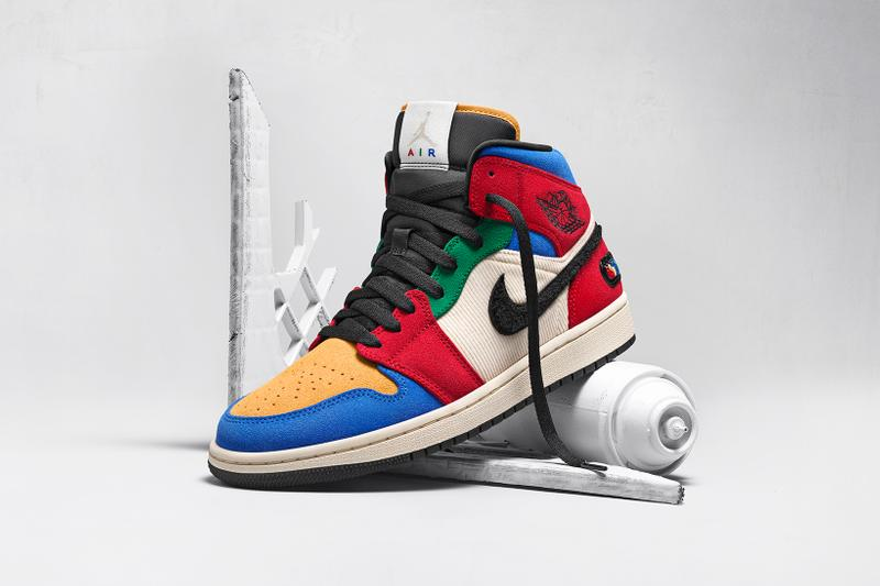 nike air jordan 1 collaborations fearless ones collection melody ehsani sneakers footwear shoes sneakerhead
