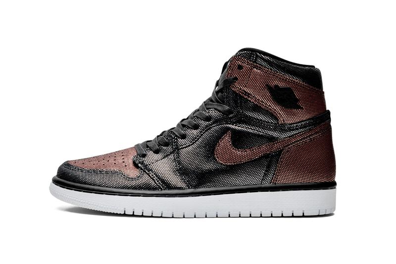"Nike Air Jordan 1 Hi ""Fearless"" Release Date Women's Exclusive Red Black Texture Holiday 2019 Sneaker Shoe Trainer Drop"