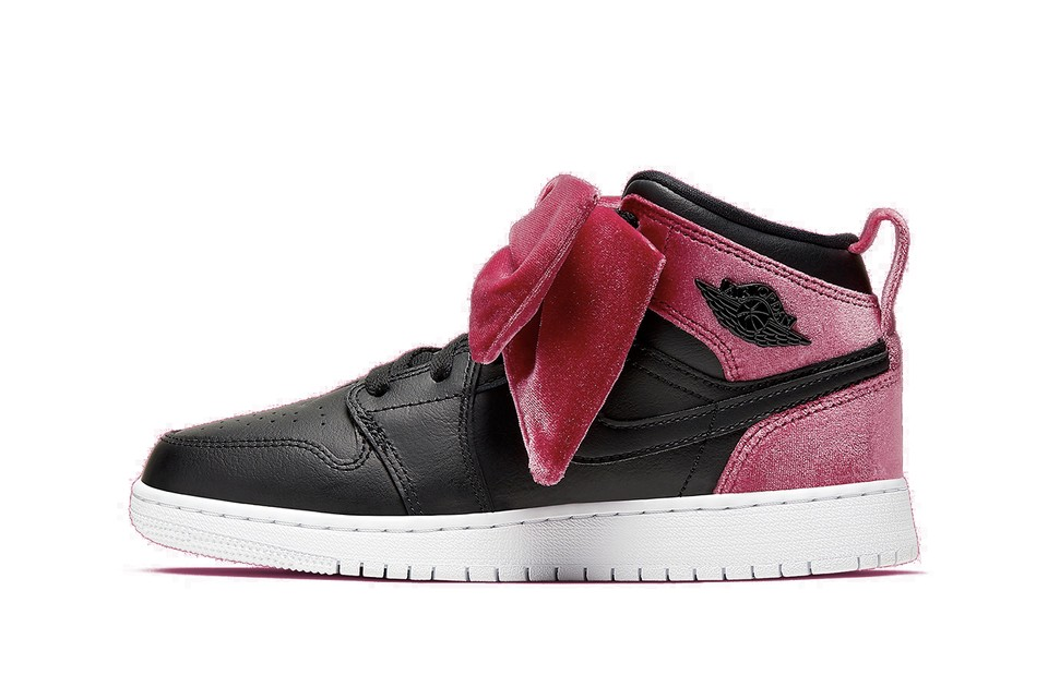 Peep the Bow on Nike's Latest Air Jordan 1 Mid