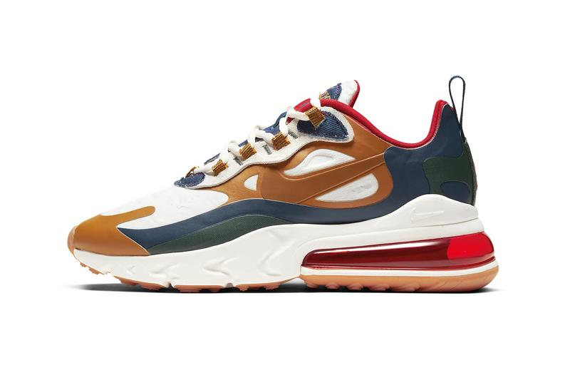 nike womens air max 270 react los angeles la edition sneakers trainers sage adams jheyda mcgarrell gabrielle richardson