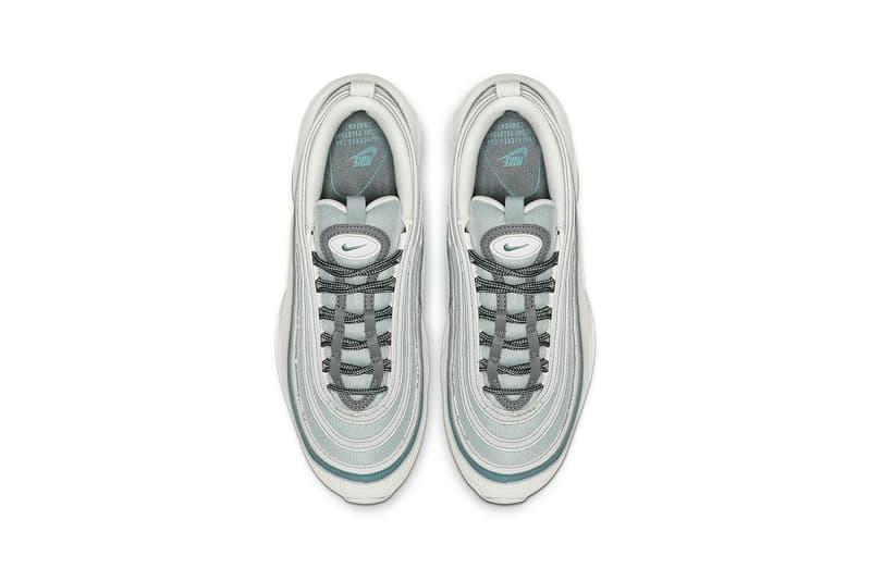 nike air max 97 womens sneakers ocean cube cool grey mineral teal summit white shoes footwear sneakerhead