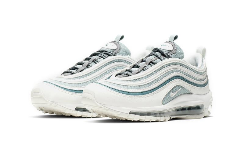 nike air max 97 womens sneakers ocean cube cool grey mineral teal summit white shoes footwear sneakerhead