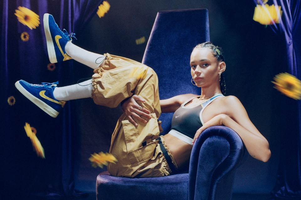"""Take a Look at Nike x Olivia Kim's Vibrant Campaign for the """"No Cover"""" Collection"""