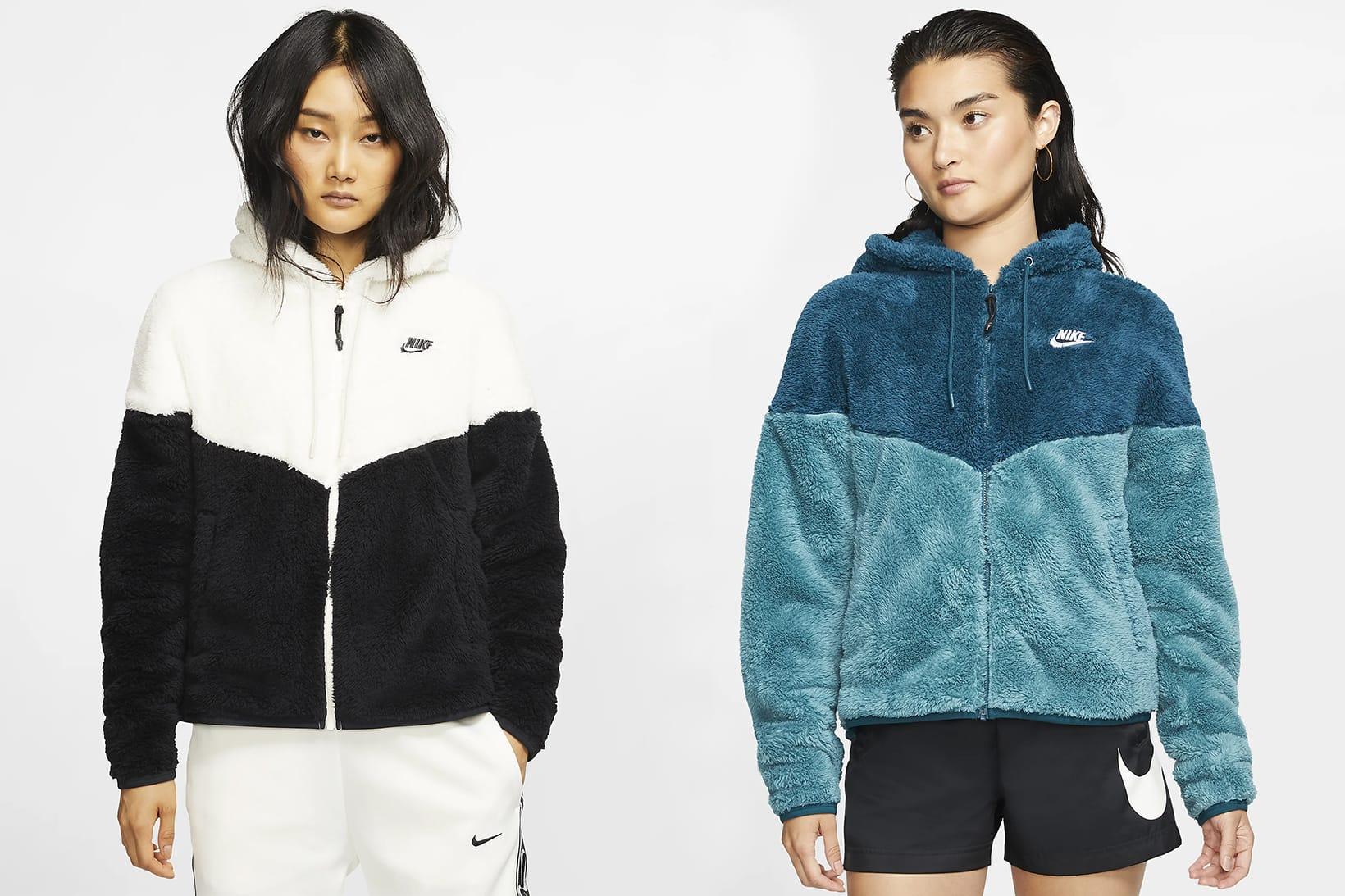 Nike's Fleece Windrunner Sherpa Jacket