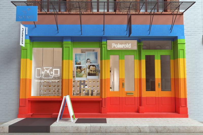 Polaroid Pop-Up Store New York City Lab